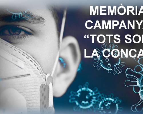 """Memòria Campanya """"Tots Som la Conca"""""""