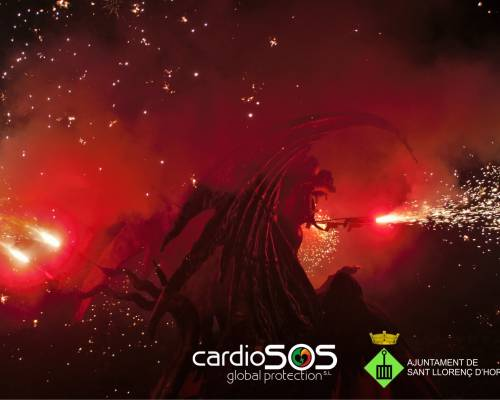Cardioprotegim el Sanglinari fest de Sant Llorenç d'Hortons
