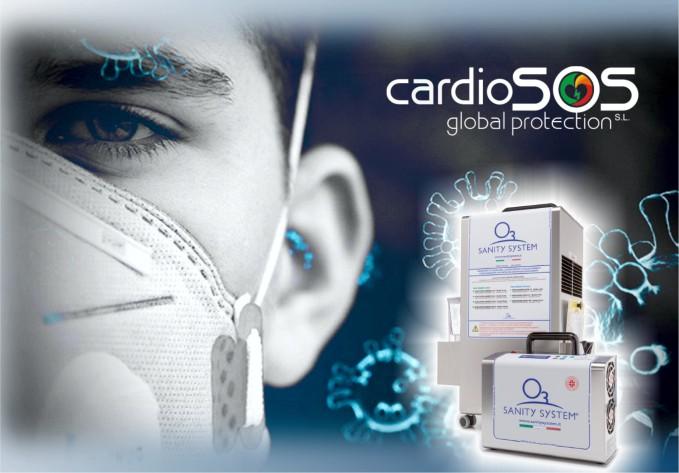 Sanitització amb ozó Cardiosos